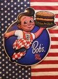 ビッグボーイ看板 アメリカエンボスサイン BIGBOY アメリカ雑貨屋 サンブリッヂ