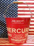 マーキュリーバケツ ブリキバケツ MERCURY アメリカ雑貨屋 サンブリッヂ