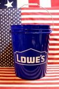 ロウズバケツ LOWES アメリカホームセンターバケツ アメリカ雑貨屋 サンブリッヂ