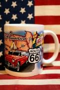 ROUTE66マグカップ アメリカ雑貨屋 サンブリッヂ