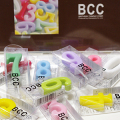 BCCナンバーキャンドルパステル