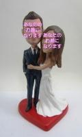 ウエディング(5) 男女セットオリジナル首ふりフィギュア 結婚式