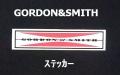 GORDON&SMITH (ゴードン&スミス) ステッカー