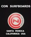 CON SURFBOARDS SANTA MONICA CALIFORNIA USA ステッカー/001