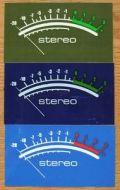 STEREO(ステレオ) ステッカー 002/Lサイズ