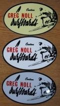 GREG NOLL SURFBORDS(グレッグノール サーフボード) ステッカー