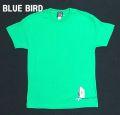 BLUE BIRD (ブルーバード)  メンズTシャツ グリーン
