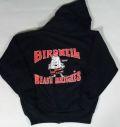 BIRDWELL 【バードウェル】 KIDS ZIPパーカー(子供用) ダークネイビー/BACK 定番