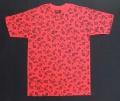 【VANS】バンズ&【THRASHER】スラッシャー コラボTシャツ レッド/Sサイズ