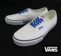 【VANS】 AUTHENTIC  SKETCH SIDEWALL/WHITE   26.5cm/US8.5