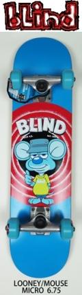 【送料無料】 blind 【ブラインド】 KIDS 【コンプリートボード】子供用スケートボード MICRO 6.75  MOUSE