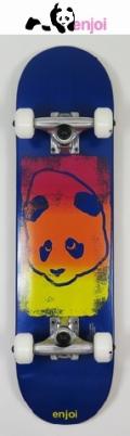 【送料無料】 enjoi 【エンジョイ】 KIDS 【コンプリートボード】子供用スケートボード 7.0 PANDA/PRINT HEAD