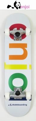 【送料無料】 enjoi 【エンジョイ】 KIDS 【コンプリートボード】子供用スケートボード 7.3  SPECTRUM
