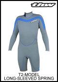 【簡単カラーオーダー】thw wetsuits ウェットスーツ 【ロングスプリング】 T-2モデル 男女サイズ有り【送料無料】