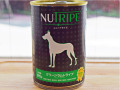 NUTRIPE ニュートライプ グリーンラムトライプ 390g