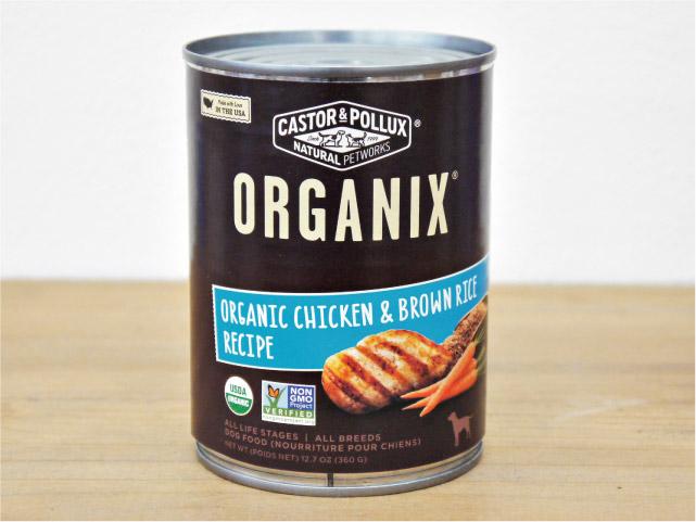 キャスター&ポラックス オーガニクス ドッグ缶 チキン&ライス 360g