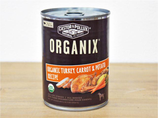 キャスター&ポラックス オーガニクス ドッグ缶 ターキー&キャロット&ポテト 360g