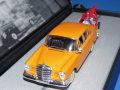 イクソ製 (ディーラー特注) 1/43 メルセデスベンツ 300SE 1959-1965 MB Safety Anniversary (オレンジ)