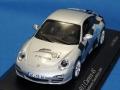 ミニチャンプス製 (Tauschborse 2009 限定) 1/43 ポルシェ 911 カレラ 4S (シルバー) 限定266台