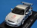 ミニチャンプス製 (トイフェア2007 限定) 1/43 ポルシェ 911 GT3RS ニュルンベルク・トイフェア 2007 限定576台