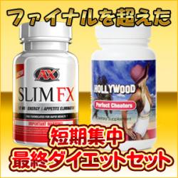 送料無料スリムFX&ハリウッドパーフェクトチーターズセット