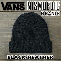 vans mismoedig beanie black heather