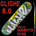 CLICHE/���ꥷ�� �������ȥܡ��ɥǥå� HANDWRITTEN PHYCHE MULTI 8.0 DECK �����ܡ�SK8