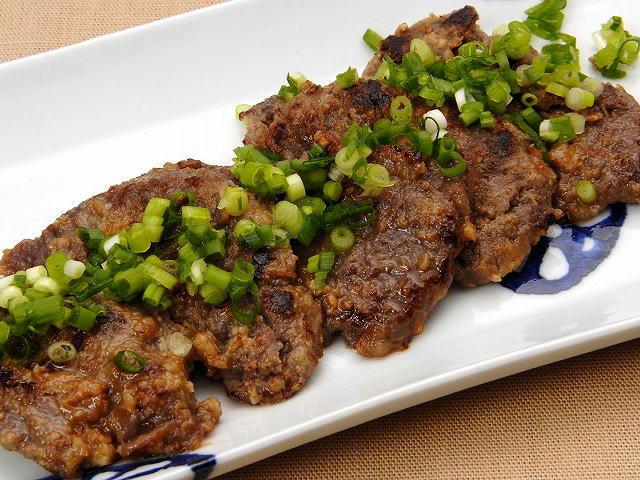 すや亀の牛肉の味噌漬 盛り付け例
