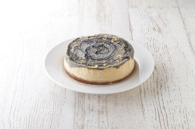 黒ゴマきなこチーズケーキ