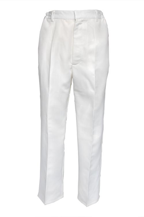 スラックス/ホワイト 白 S〜LL /アパレル 4000-3-wh