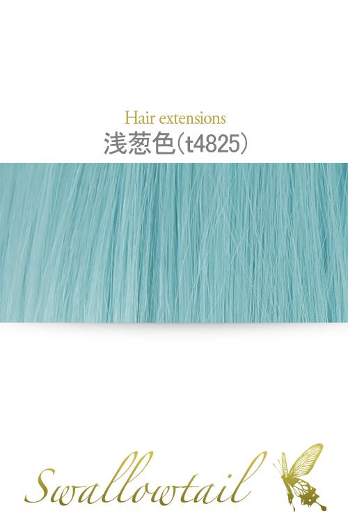 【浅葱色(あさぎいろ)】毛束 ex-t4825