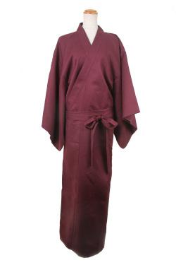 着物(帯付き)/レッド 濃赤 フリーサイズ/アパレル 4000-5-rd