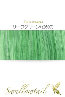 【リーフグリーン】毛束 ex-t2607