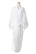 着物(帯付き)/ホワイト 白 フリーサイズ/アパレル 4000-5-wh