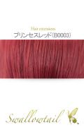 109【プリンセスレッド】毛束 ex-b0003