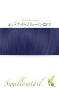 082【ミッドナイトブルー】毛束 ex-t2511