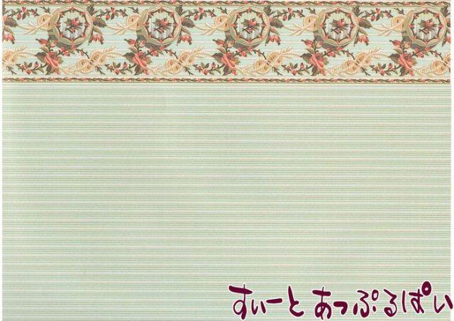 【1/24サイズ】【スペイン製】 ドールハウス用壁紙  WM24566