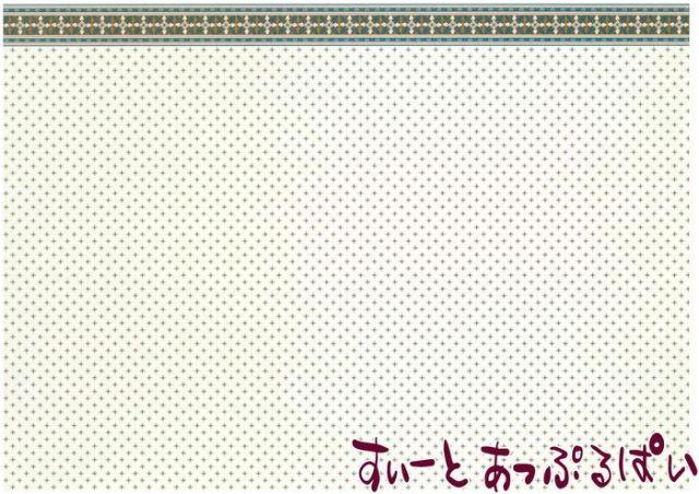 【1/12サイズ】 ドールハウス用壁紙  BP1VT327