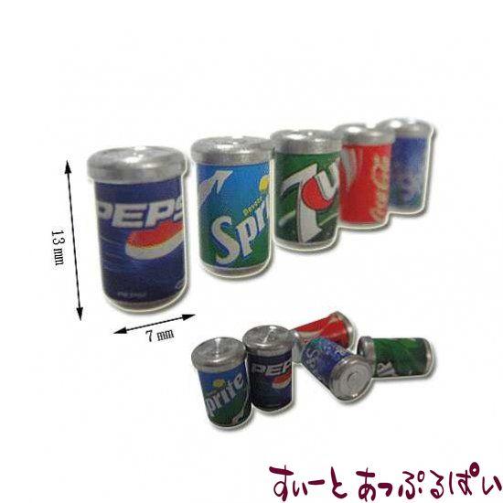 もうちょっとリアルなソフトドリンク缶 5個セット MWDC72
