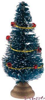 ミニクリスマスツリー 高さ45mm IM65040