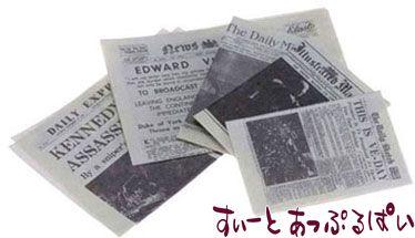 新聞紙 5枚セット IM65334