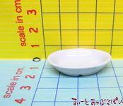 陶器のお皿 カレー皿 白 VROV06
