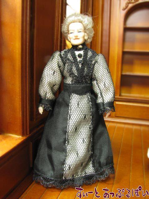 【Heidi Ott】 ハイジオットドール 上品な老婦人 HO-X090
