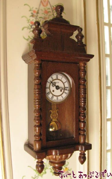 【Heidi Ott】 本当に時を刻む掛け時計 HO-XY402