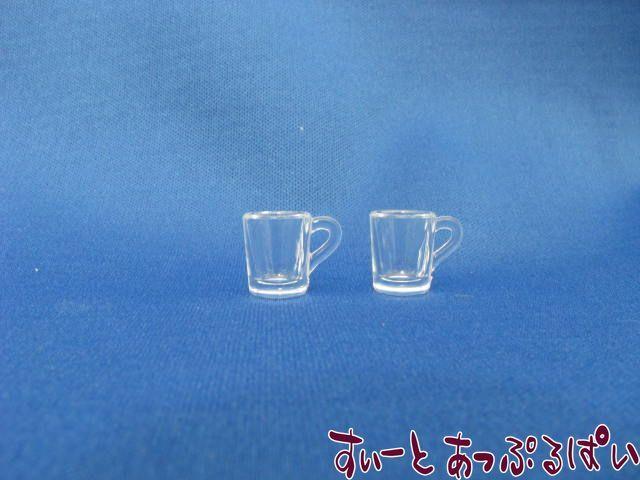 プラスチック製 透明マグ(Mサイズ) 2個セット MWDS5-3