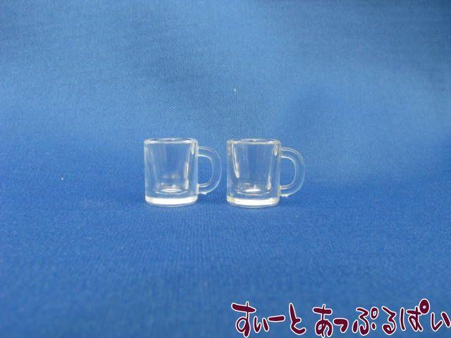 プラスチック製 透明マグ(Lサイズ) 2個セット MWDS5-4