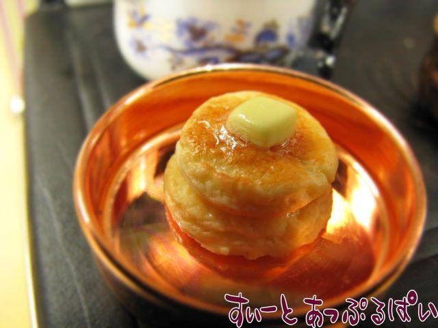 パンケーキ2枚重ね バターのせ SWBK-2