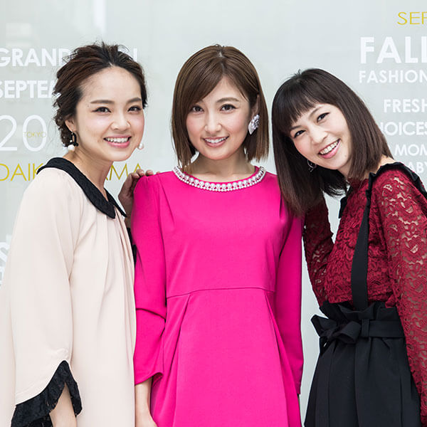 熊田曜子さん、安田美沙子さん、春名亜美さんもご着用
