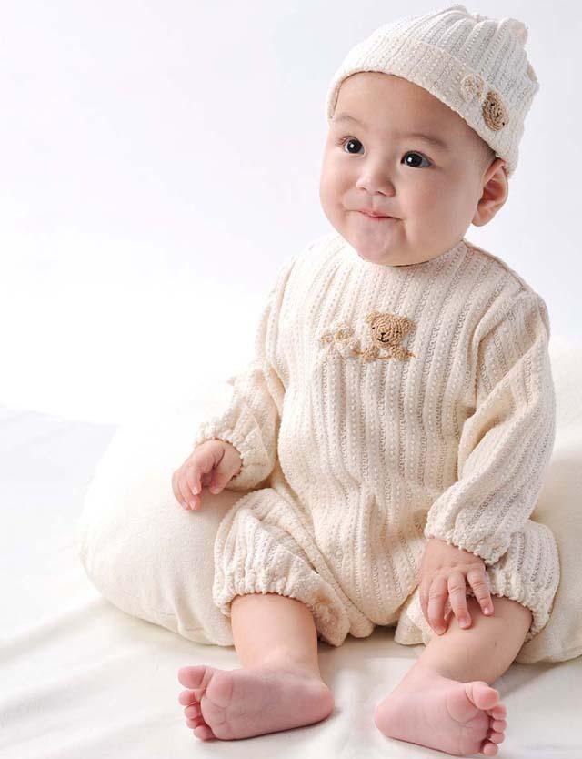 Amorosa mamma 天使の糸 オーガニックコットン レーシーニットの兼用ドレス 50-70cm ah063 うさぎ/ベビー服 【日本製】