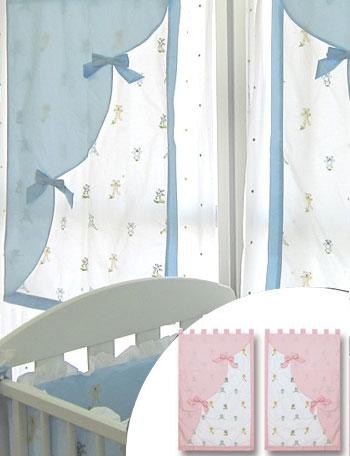コットン100%のおしゃれなカフェカーテン ダブル dg2009 赤ちゃん/ベビー/ベビーベッド/寝具